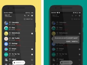 Aplikace UnApp pro odinstalování aplikací