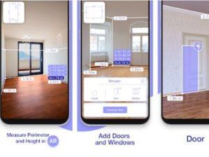 Aplikace AR Plan 3D Ruler