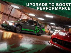 Android závodní hra Forza Street na telefonu