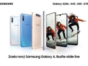 Samsung Galaxy A série představena