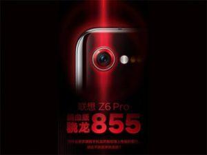 Lenovo Z6 Pro se Snapdragon 855