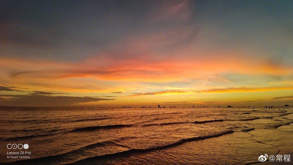Západ a východ slunce