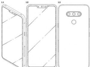 LG zveřejnilo patent telefonu se třemi selfie kamerami