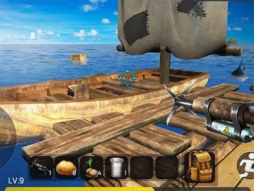 Android akční hra Ocean Survival