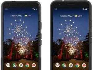 Google Pixel 3a a 3a XL - oficiální rendery