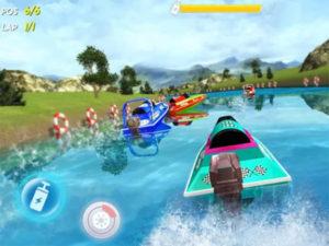 Hra závodní Powerboat Race 3D