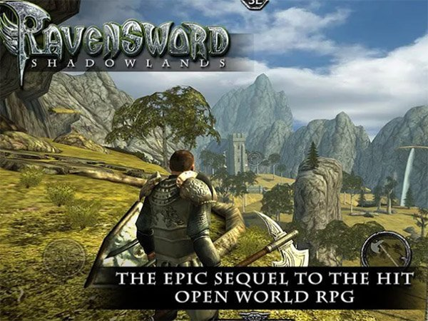 Android RPG hra Ravensword: Shadowlands 3d RPG