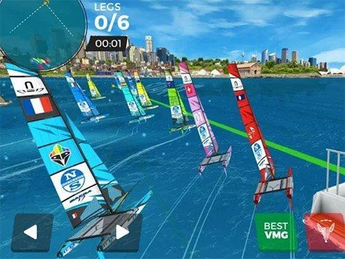 Hra Virtual Regatta Inshore