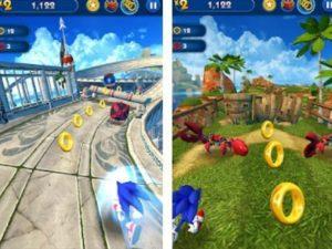 Arkádová hra Sonic Dash