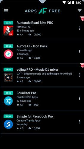 Aplikace AppsFree ke stažení