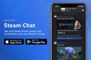 Aplikace Steam Chat