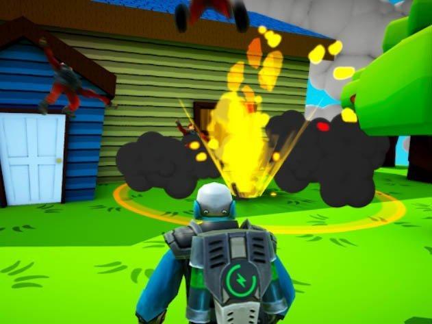 Android battle-royale hra No Guns