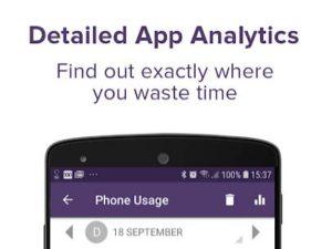 Aplikace pro měření času stráveného v aplikaci
