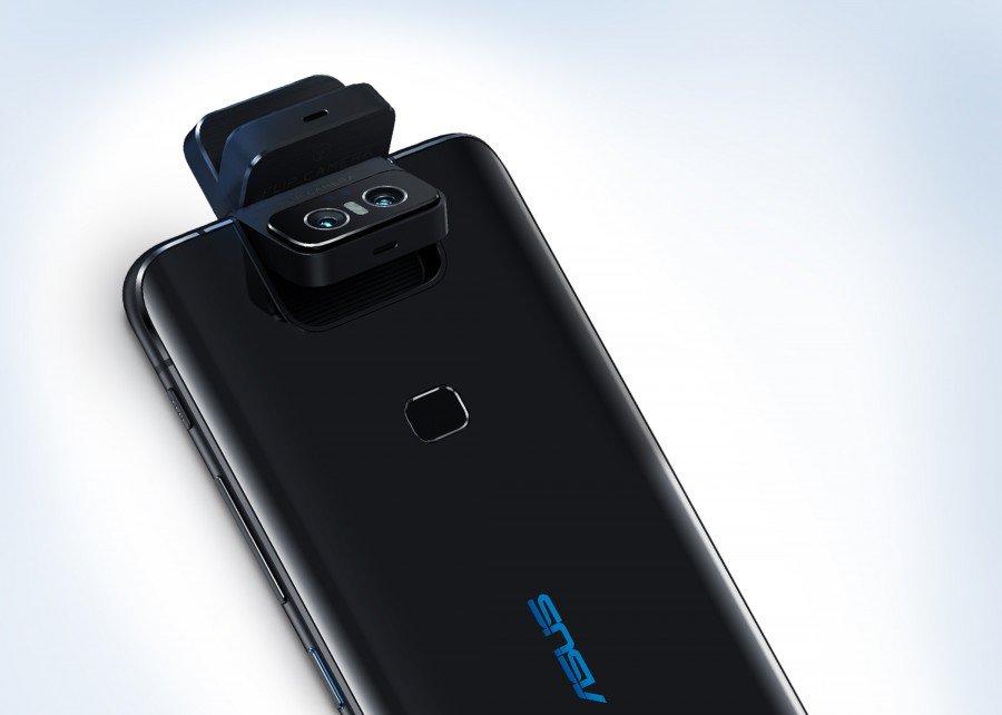 Asus odklápěcí mechanizmus fotoaparátu