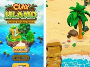 Hra Clay island: Escape