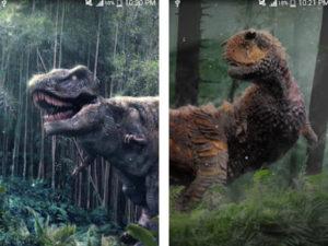 Živá tapeta na mobil - Dinosaurus