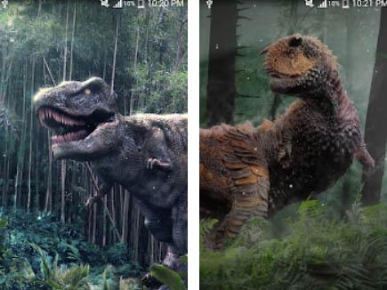 Živá tapeta Dinosaur