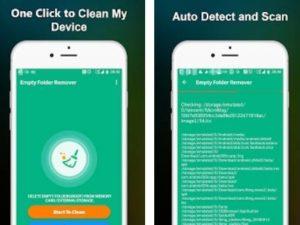 Aplikace Empty Folder Cleaner