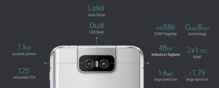 Asus Zenfone 6 fotoaparát