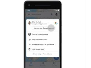 Google I/O mapy