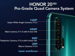 Honor 20 Pro s 12GB RAM v Číně
