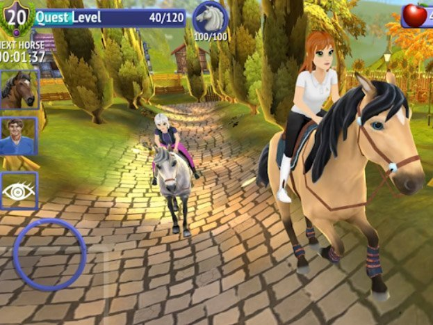 Android hra Horse Riding Tales