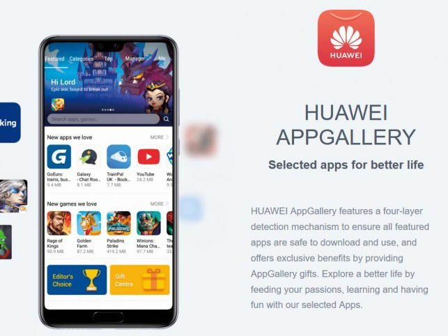 Appgalery Huawei