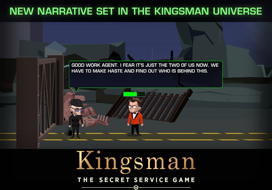 Hra Kingsman – The Secret Service Game