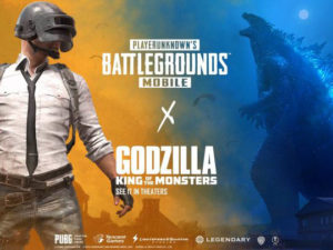 PUBG Mobile s události Godzilla
