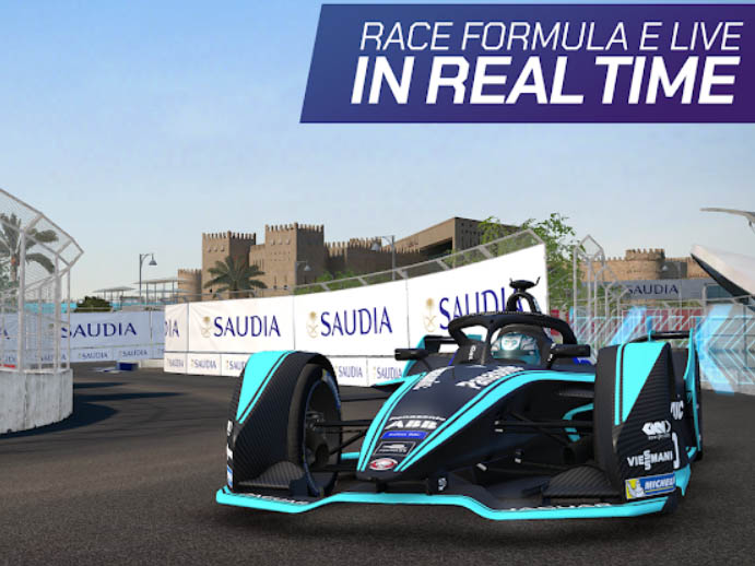 Závodní hra Ghost Racing: Formula E