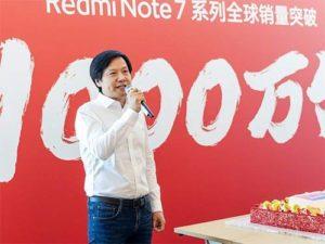 Redmi Note 7 oslavuje