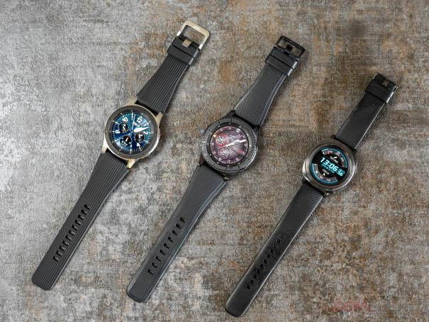 Samsung One UI na chytrých hodinkách