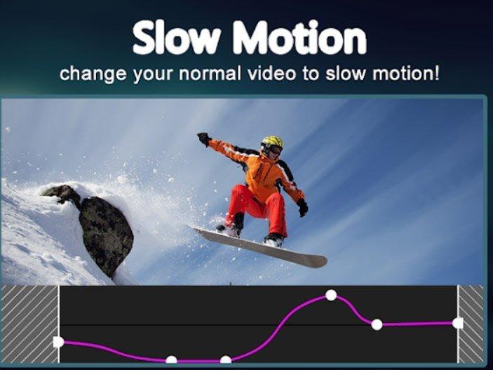Aplikace na mobil Slow motion video FX