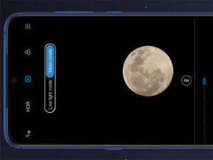 Xiaomi Mi 9 mód měsíce