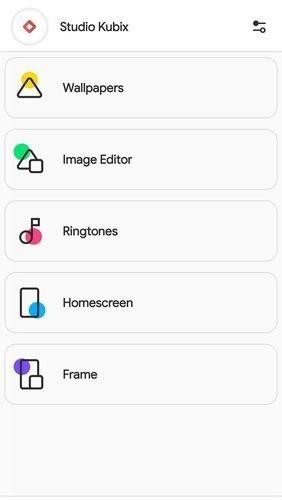 Aplikace CREATIVE