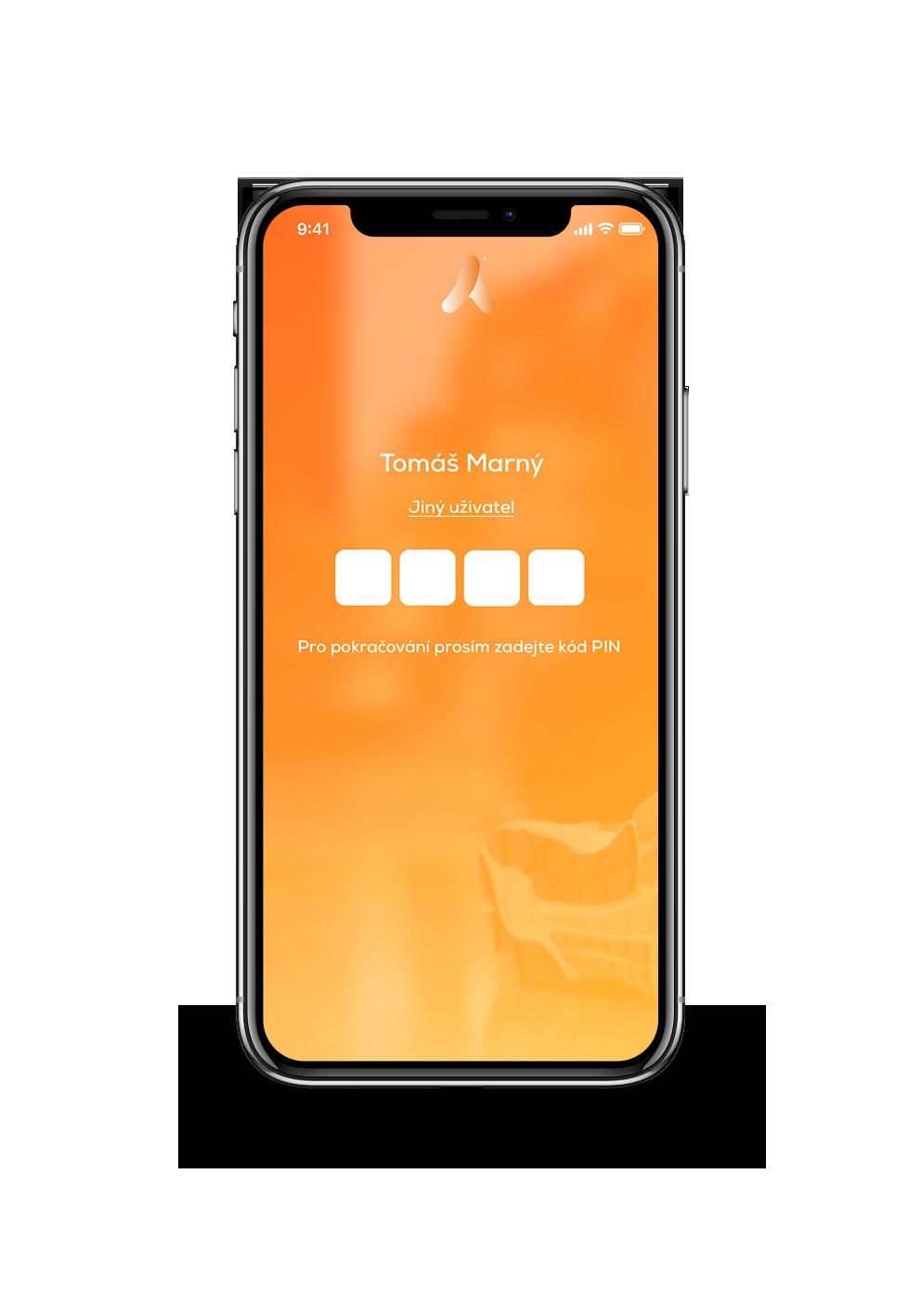 Přihlášení do aplikace ActivePass