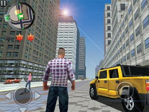Android hra Grand Gangsters 3D