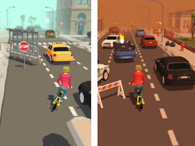 Android arcade game Crazy Bike Rider free download
