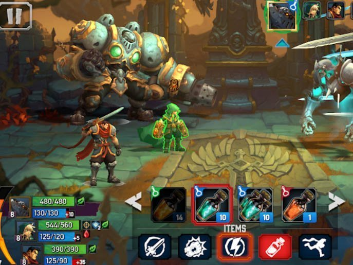 Hra Battle Chasers