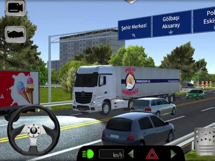 Hra Cargo Simulator 2019