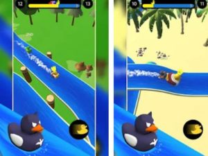 Android hra Duck Race
