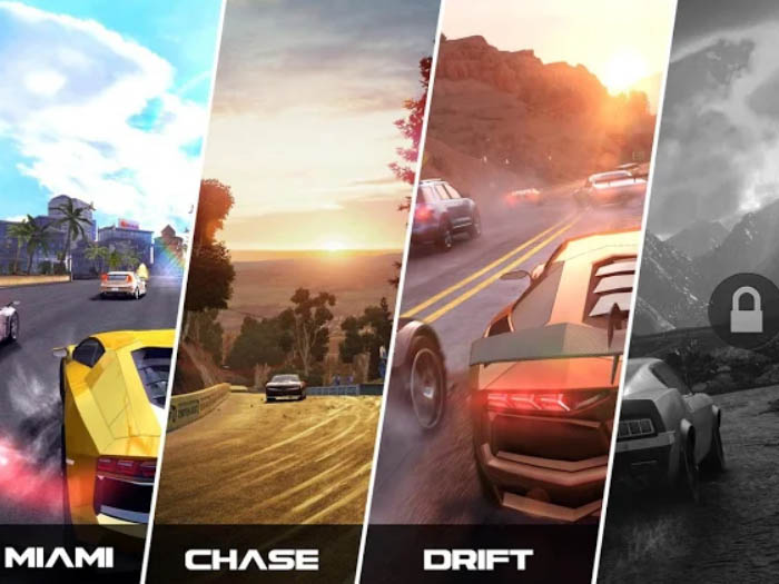 Android hra ke stažení Ultimate Drifting