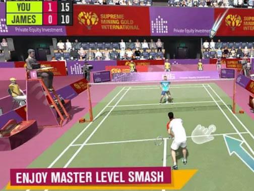 Sportovní hra Badminton Battle