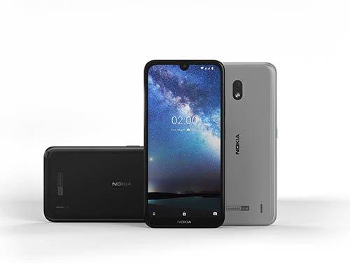 Nokia 2.2 šedá barva