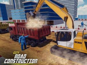Hra Excavator digging