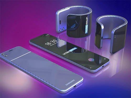 Samsung s vysouvacím displejem