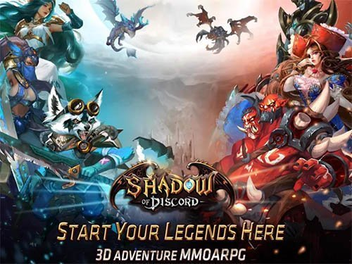 Hra Shadow of Discord: 3D MMOARPG