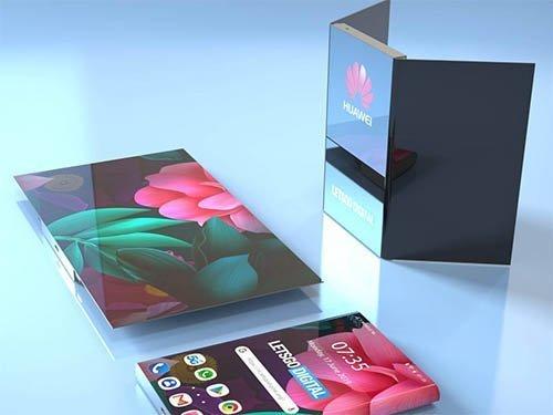Huawei skládané telefony