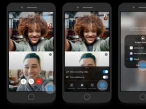 Skype nabídne sdílení obrazovky na Androidu i iOS