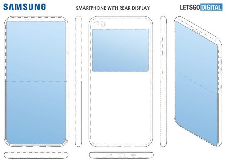 Samsung s duálním displejem